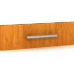 "Rendering of Creative Wood's ""G"" style furniture pull"