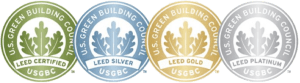 4 LEED certification levels