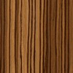 Sample of Creative Wood's reconstituted zebrawood premium furniture veneer