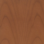Sample of a standard Creative Wood wild cherry furniture finish