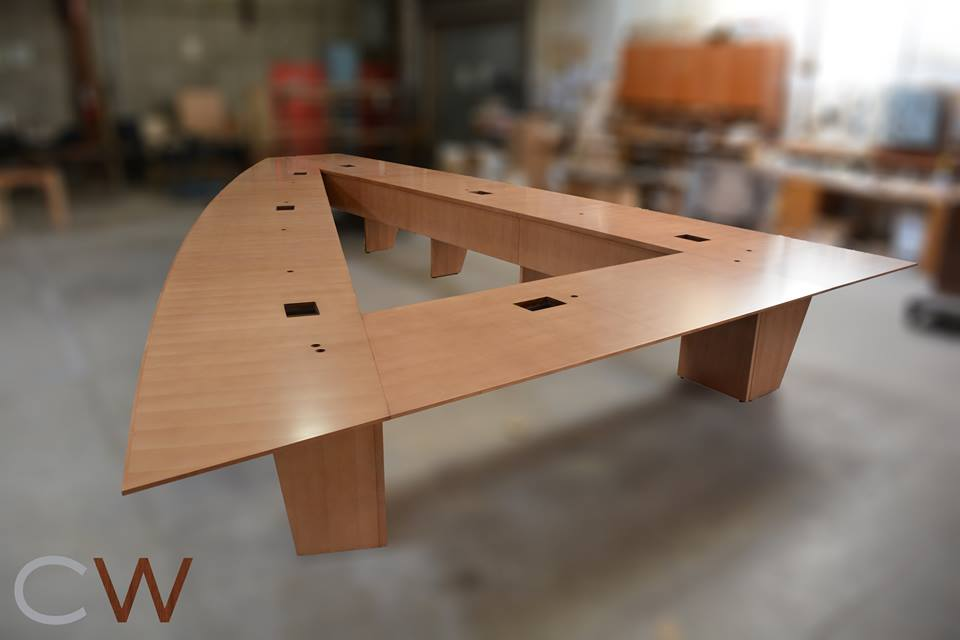 Creative Wood Week In ReviewMay Creative Wood - Triangle conference table