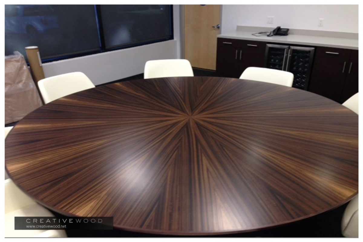 Meeting Creative Wood - Round conference table for 10